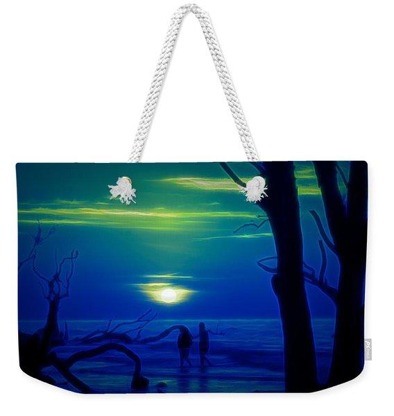 Blue Dawn Weekender Tote Bag