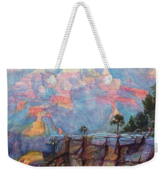 Blue Depths Weekender Tote Bag