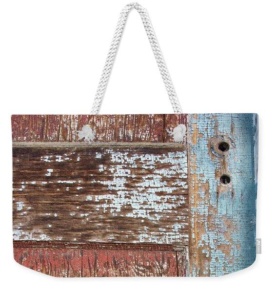 Blue Door Crackle Weekender Tote Bag