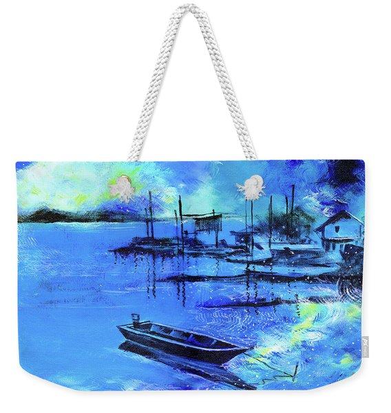Blue Dream 2 Weekender Tote Bag