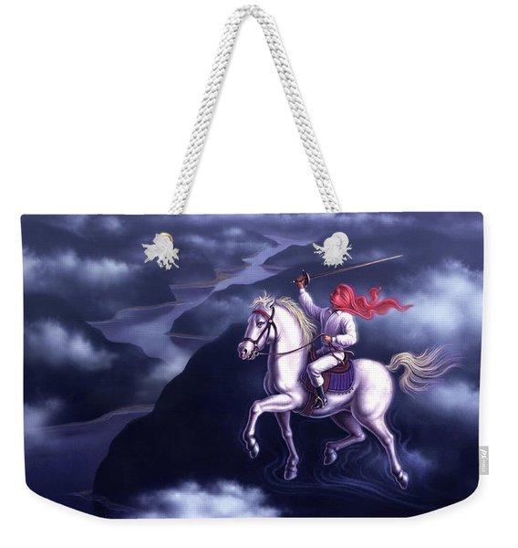 Blue Dream Weekender Tote Bag