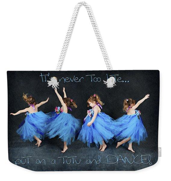 Blue Fairy Weekender Tote Bag