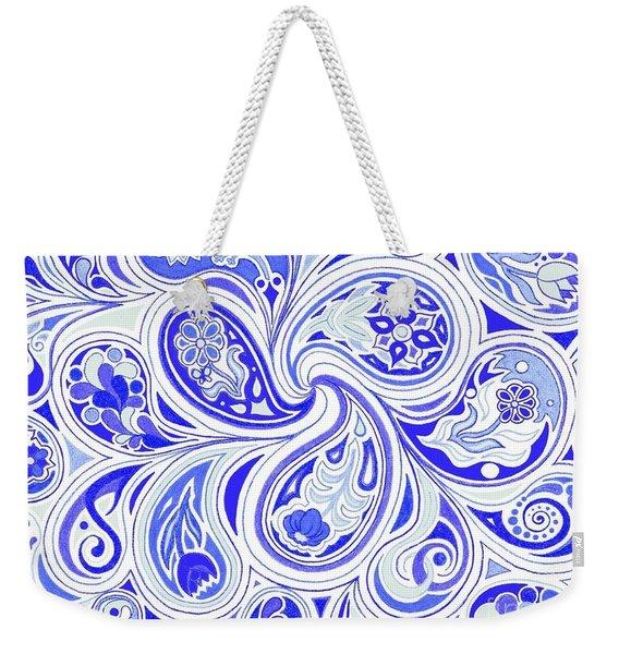 Blue Fantastic Weekender Tote Bag