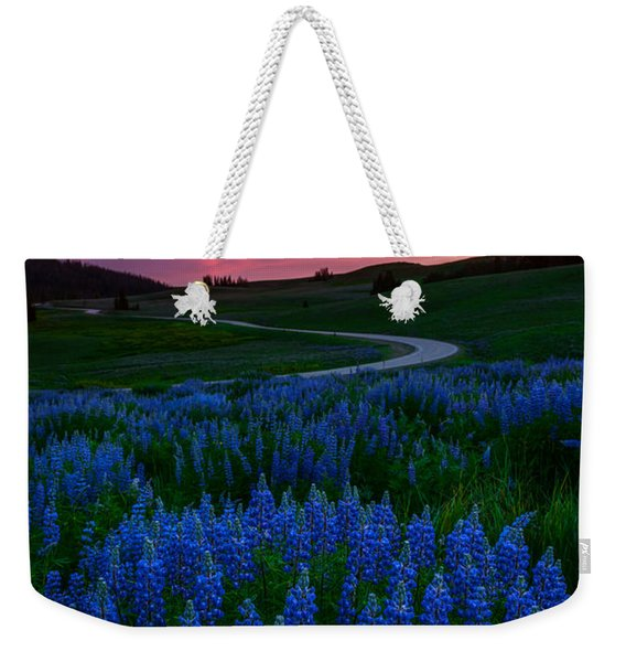 Blue Flame Weekender Tote Bag