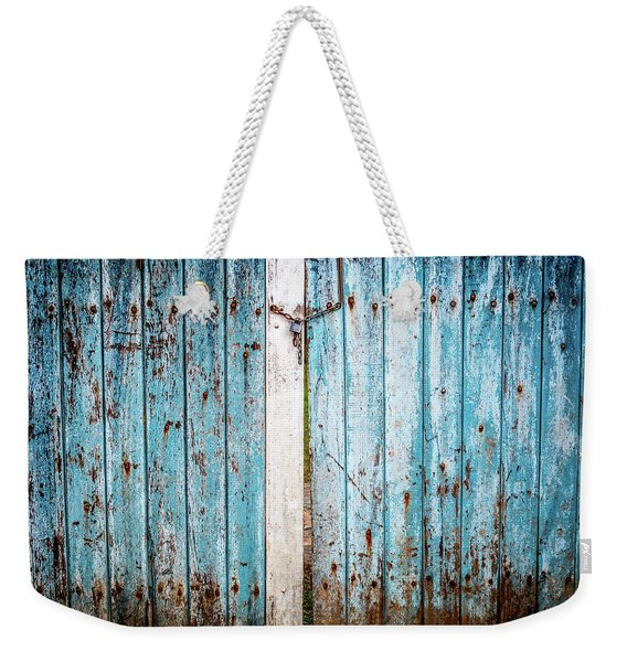 Blue Gate Weekender Tote Bag