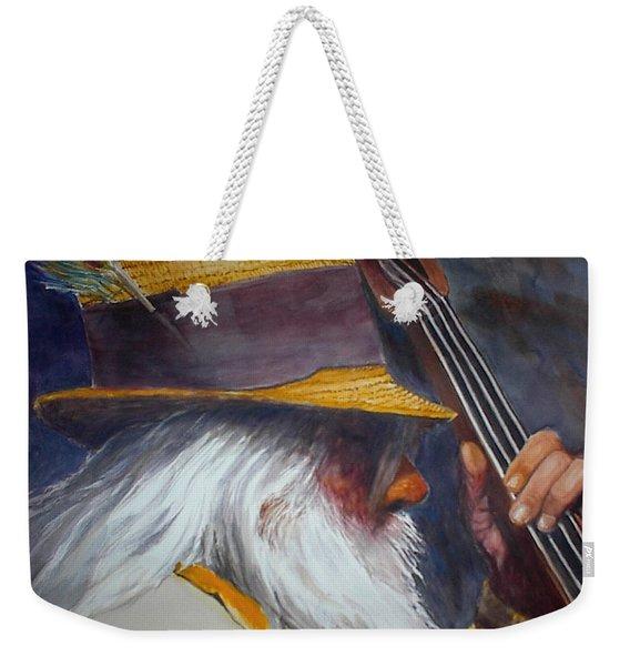 Blue Grass Bob Weekender Tote Bag
