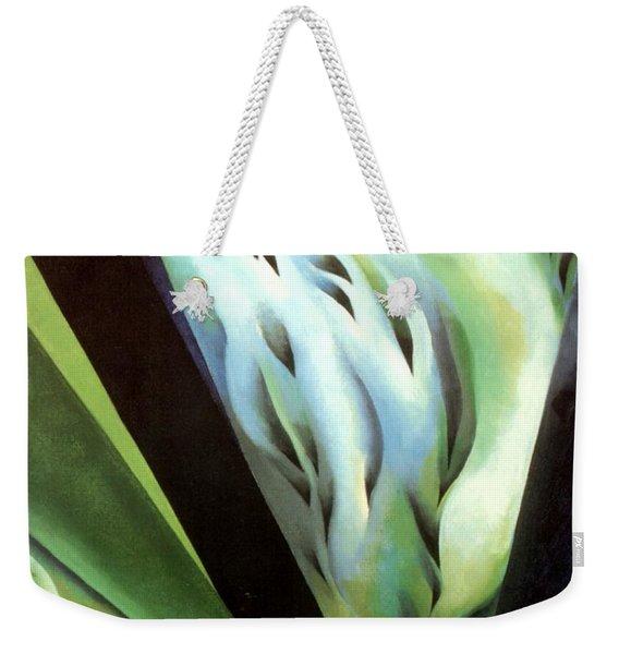 Blue Green Music Weekender Tote Bag