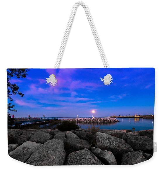 Blue Harbor Weekender Tote Bag