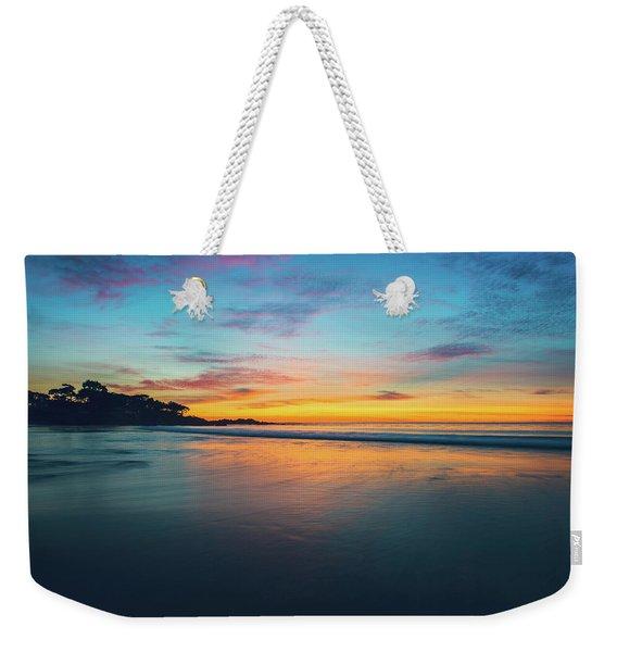 Blue Hour At Carmel, Ca Beach Weekender Tote Bag