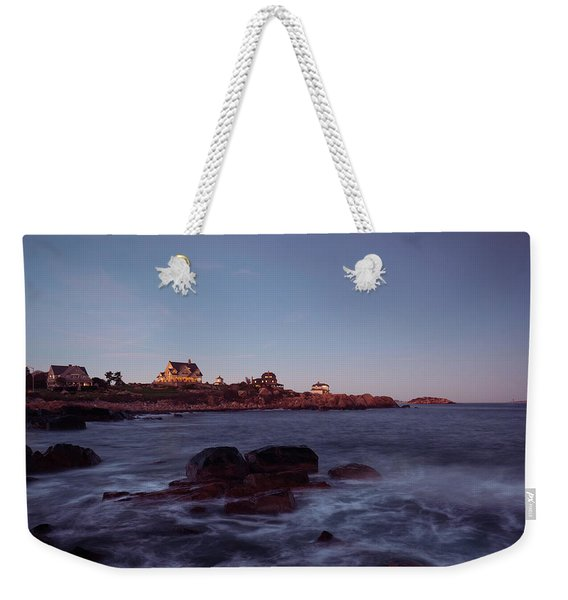 Blue Hour In Gloucester Weekender Tote Bag