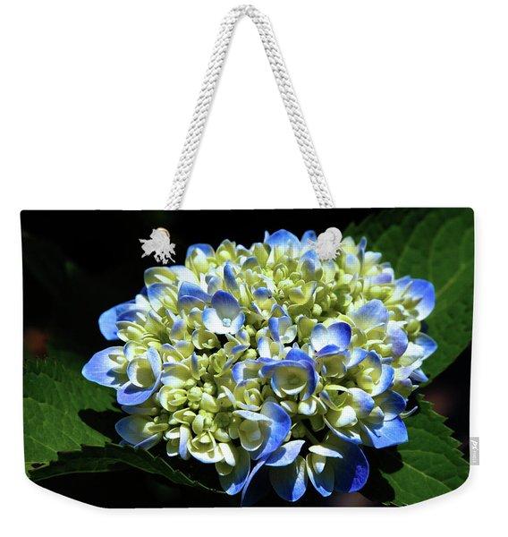 Blue Hydrangea Onstage 2620 H_2 Weekender Tote Bag