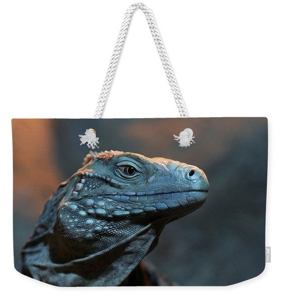 Blue Iguana Weekender Tote Bag