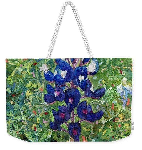 Blue In Bloom 2 Weekender Tote Bag