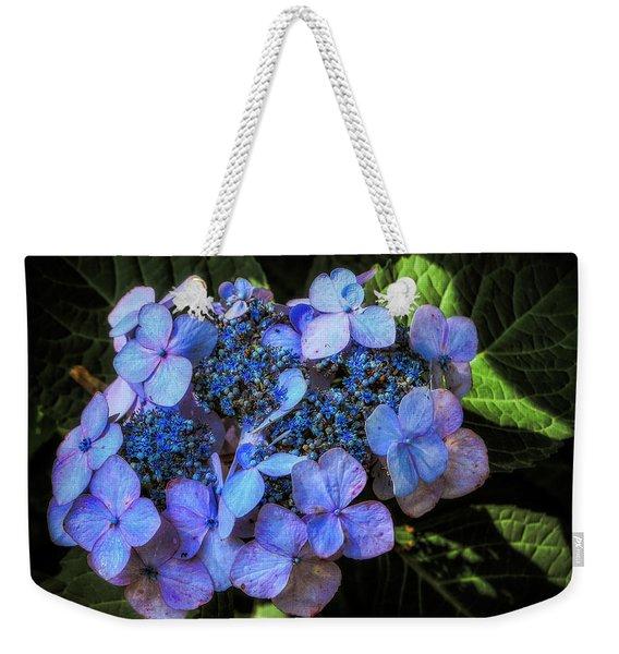 Blue In Nature Weekender Tote Bag