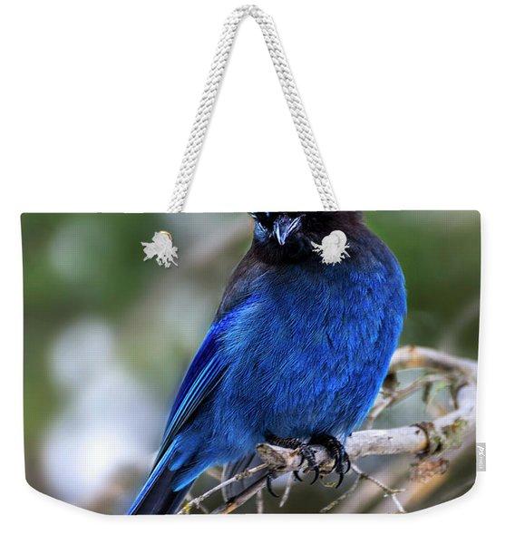 Blue Jade  Weekender Tote Bag