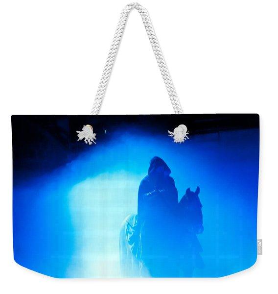 Blue Knight Weekender Tote Bag