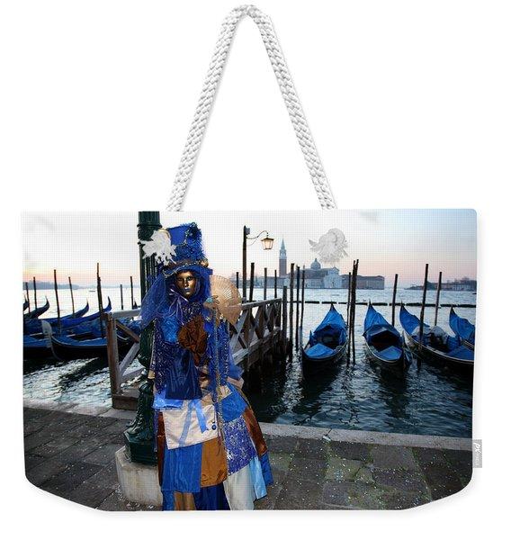 Blue Lips At Sunrise Weekender Tote Bag