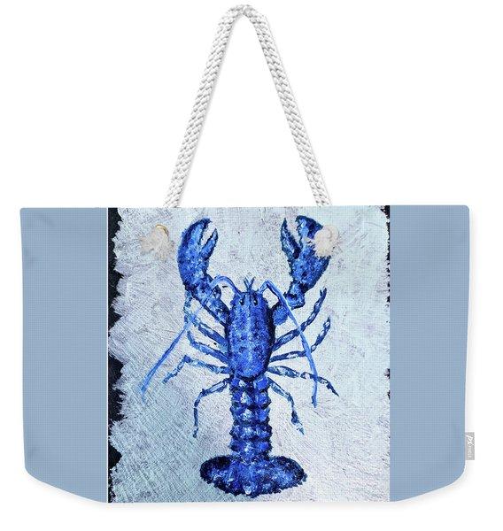 Blue Lobster 1 Weekender Tote Bag