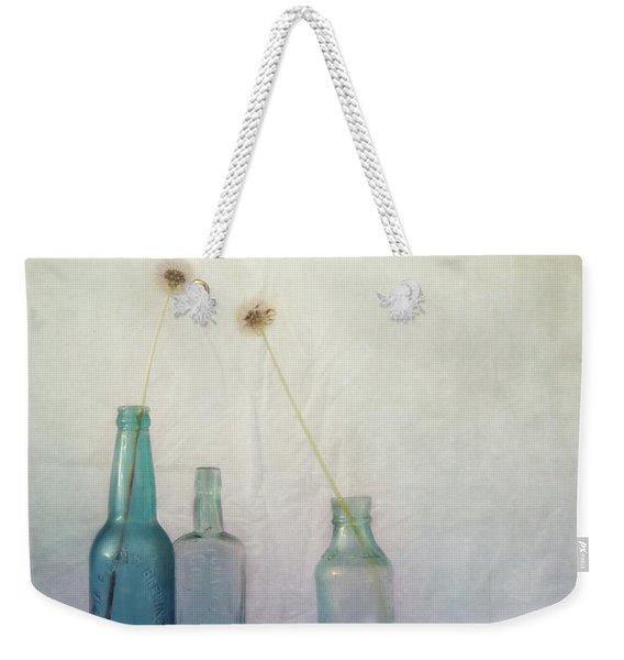 Blue Memories Weekender Tote Bag