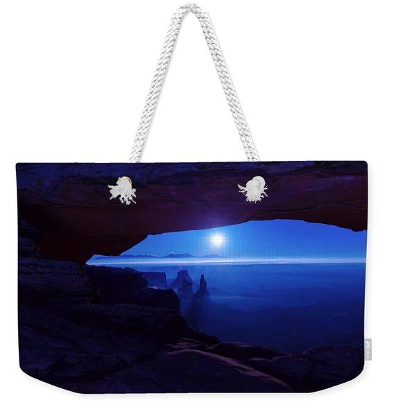 Blue Mesa Arch Weekender Tote Bag