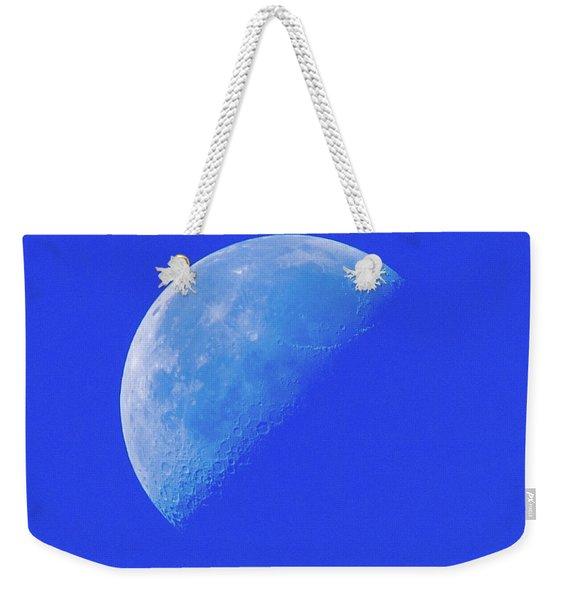 Blue Moon Weekender Tote Bag