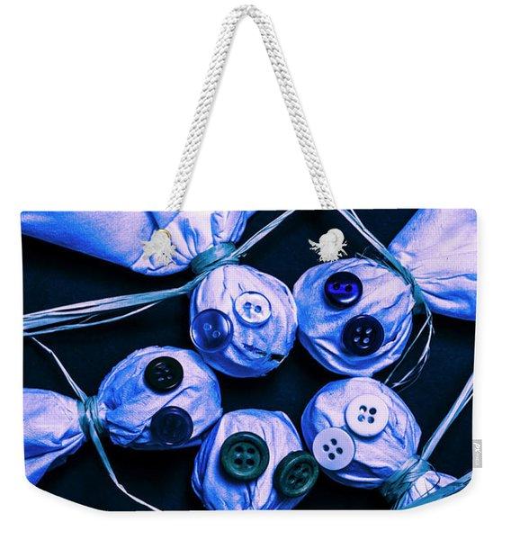 Blue Moon Halloween Scarecrows Weekender Tote Bag