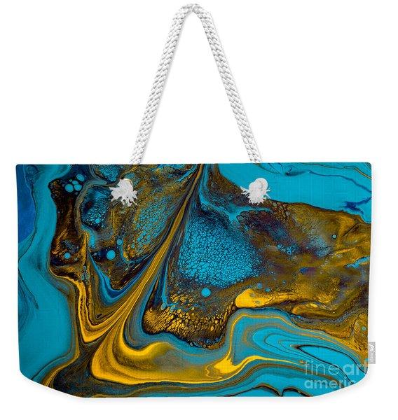 Blue Mountain Weekender Tote Bag