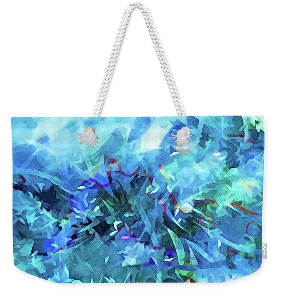 Blue Movement Weekender Tote Bag