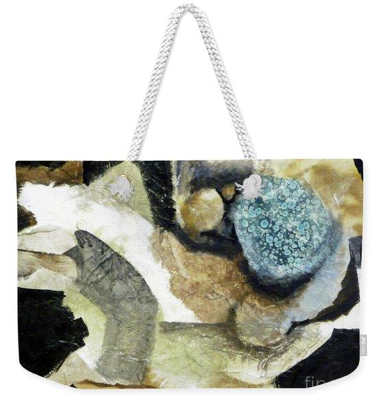 Blue Nest Weekender Tote Bag