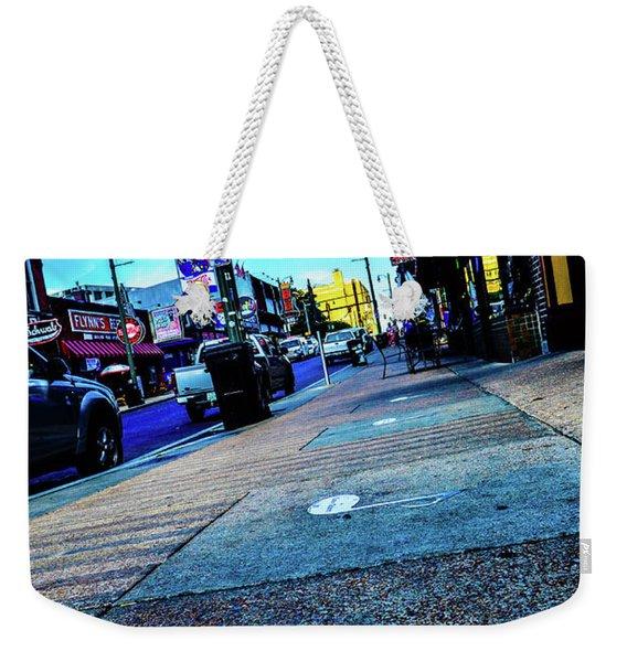 Blue Notes On Beale Weekender Tote Bag