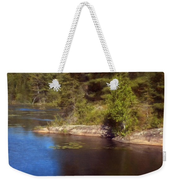 Blue Pond Marsh Weekender Tote Bag
