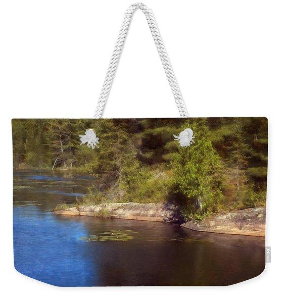 Blue Pond Marsh Weekender Tote Bag