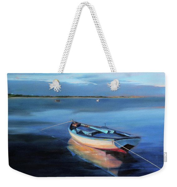 Blue Refuge Weekender Tote Bag