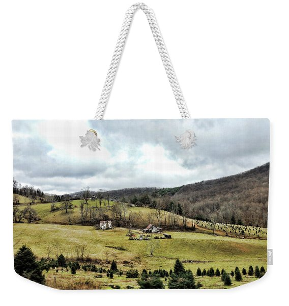 Blue Ridge Homestead Weekender Tote Bag