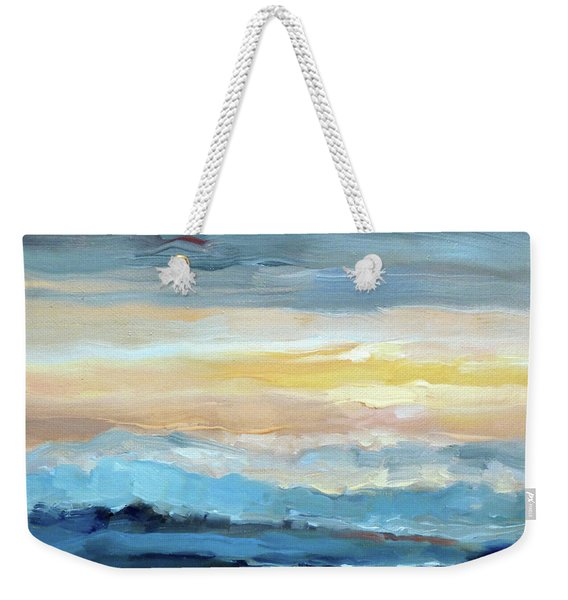 Blue Ridge Mountain Sunset 1.0 Weekender Tote Bag