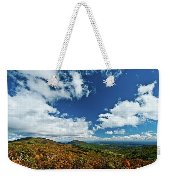 Blue Ridge Mountains In The Fall 2 Weekender Tote Bag