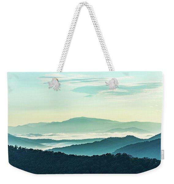 Blue Ridge Pastel Weekender Tote Bag