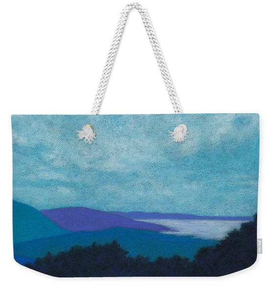 Blue Ridges 3 Weekender Tote Bag