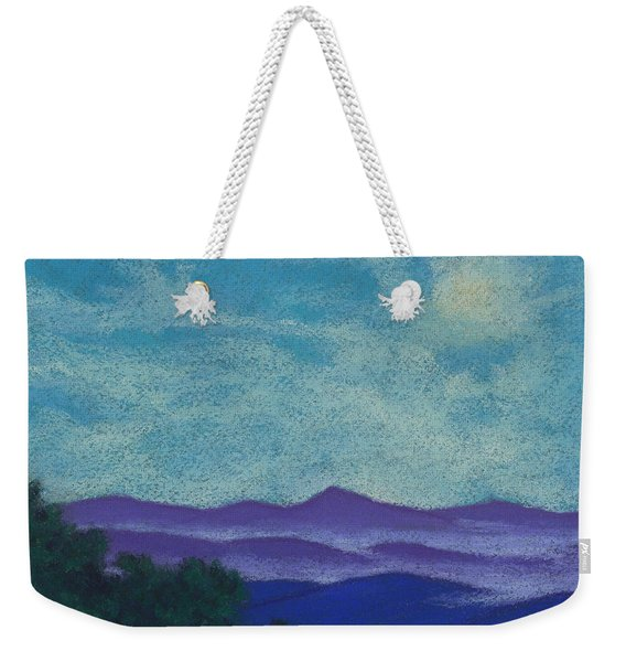 Blue Ridges Mist 1 Weekender Tote Bag