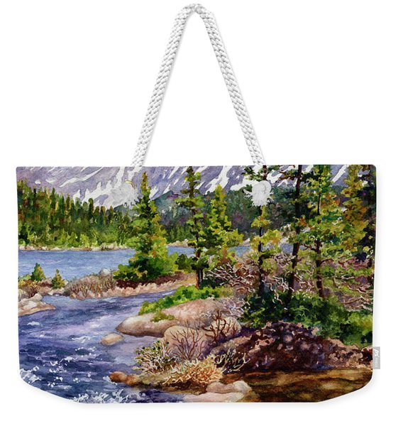 Blue River Weekender Tote Bag