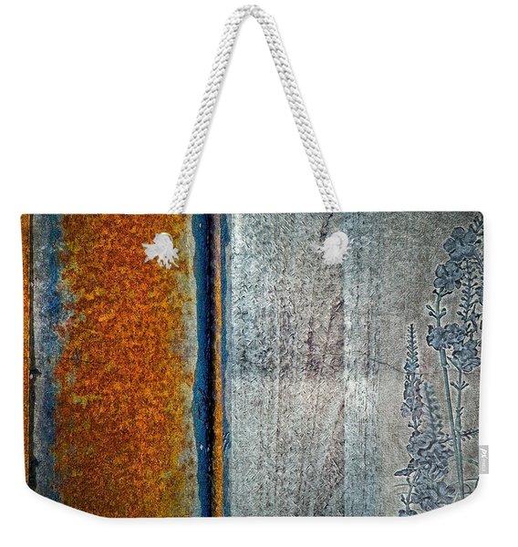 Blue Rust Weekender Tote Bag
