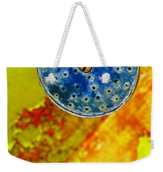Blue Shower Head Weekender Tote Bag