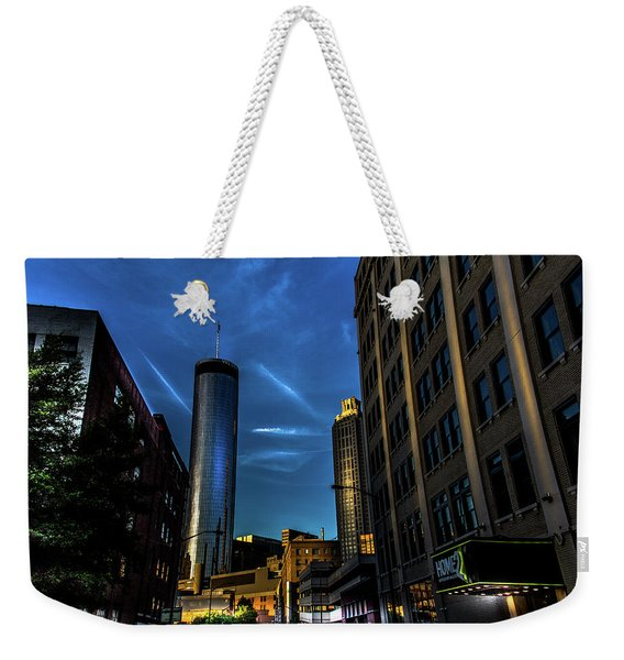 Blue Skies Above Weekender Tote Bag