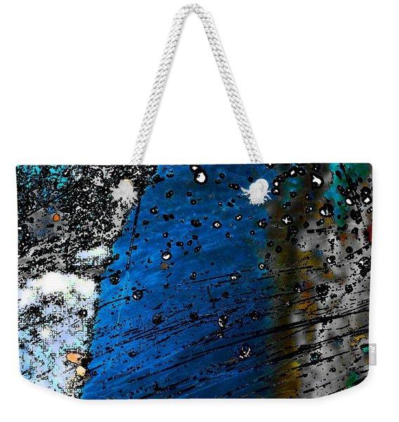 Blue Spectacular Weekender Tote Bag