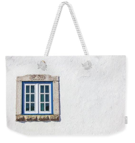 Blue Stone Window Of Obidos Weekender Tote Bag