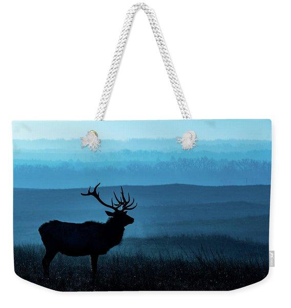 Blue Sunrise Weekender Tote Bag
