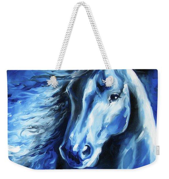 Blue Thunder  Weekender Tote Bag
