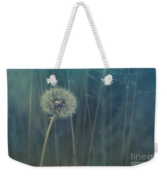 Blue Tinted Weekender Tote Bag