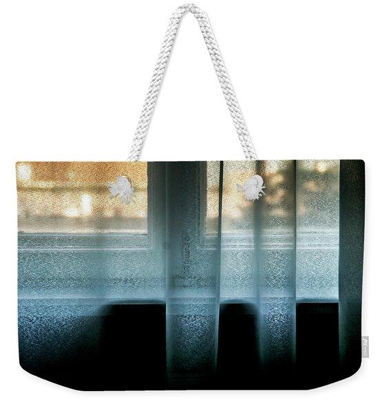 Blue Twighlight Weekender Tote Bag
