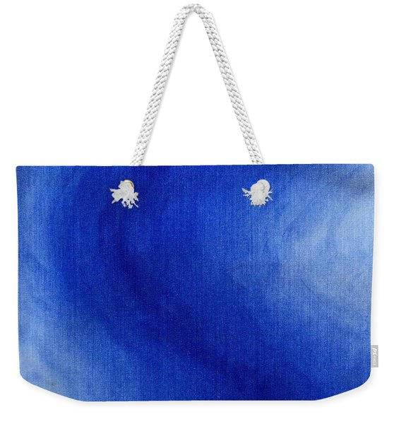 Blue Vibration Weekender Tote Bag